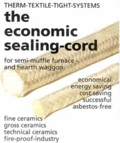Therm-Textile Ceramic Sealing Cord