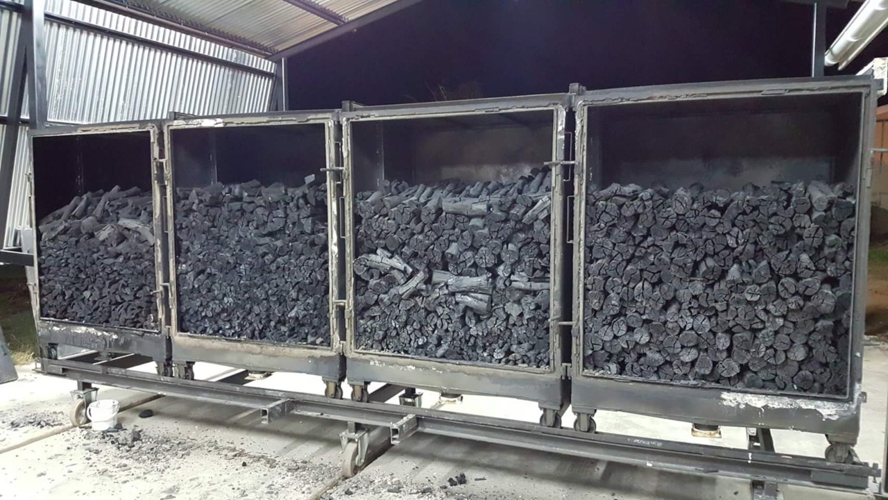 Charcoal production