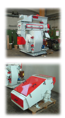 pelleting line, wood pelleting
