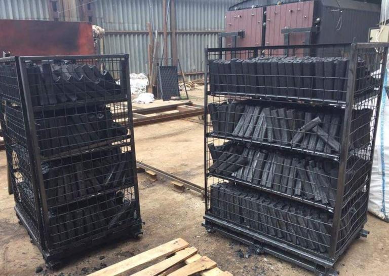 Charcoal Production Kiln Retort